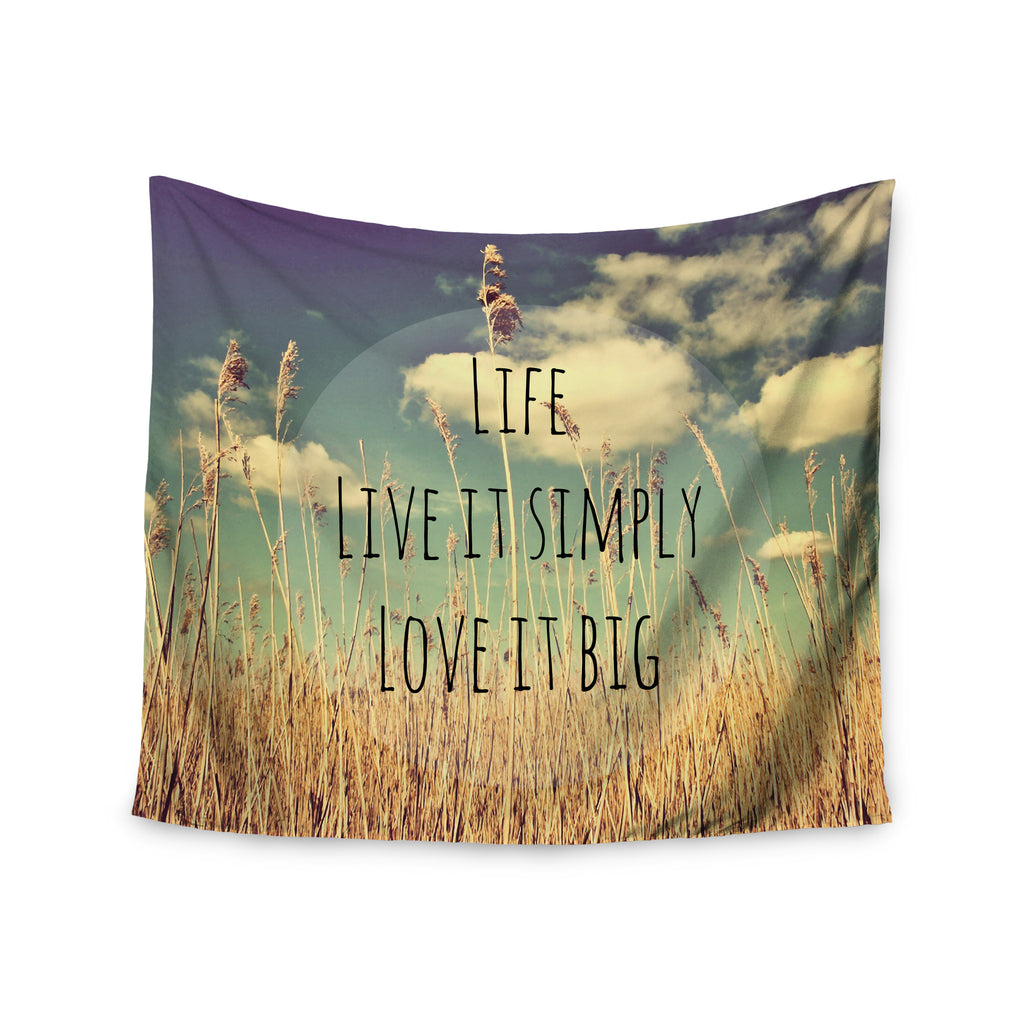 "Alison Coxon ""Life"" Wall Tapestry - KESS InHouse  - 1"