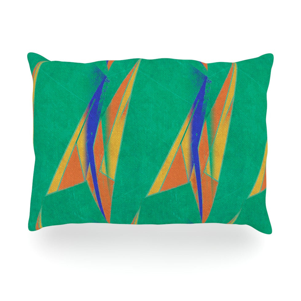 "Alison Coxon ""Deco Art"" Oblong Pillow - KESS InHouse"