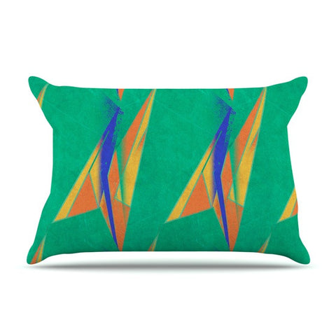 "Alison Coxon ""Deco Art"" Pillow Sham - KESS InHouse  - 1"