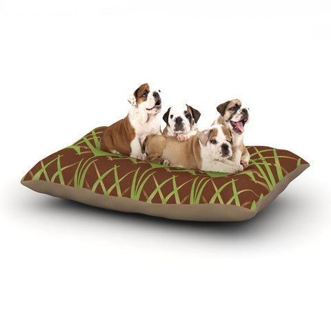 "Alison Coxon ""Mint Choc"" Dog Bed - KESS InHouse  - 1"