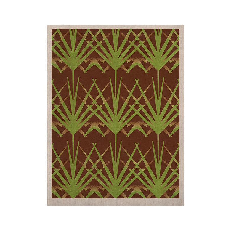 "Alison Coxon ""Mint Choc"" KESS Naturals Canvas (Frame not Included) - KESS InHouse  - 1"