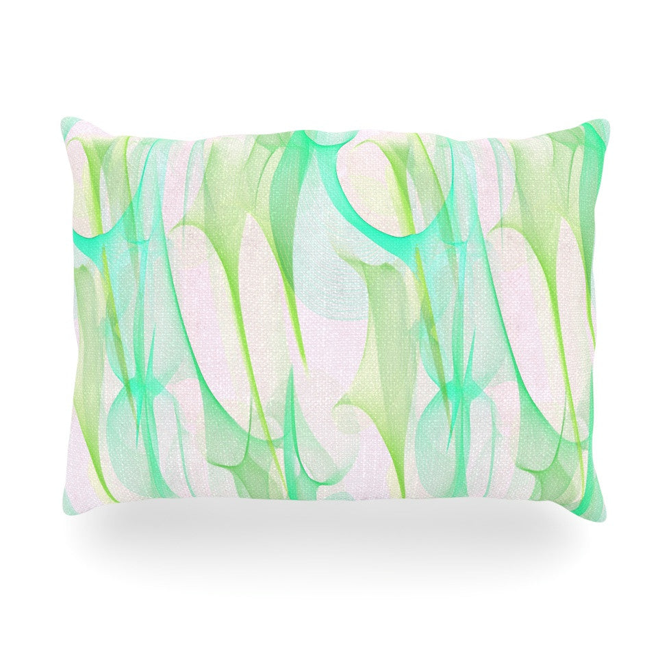 "Alison Coxon ""Swim II"" Oblong Pillow - KESS InHouse"
