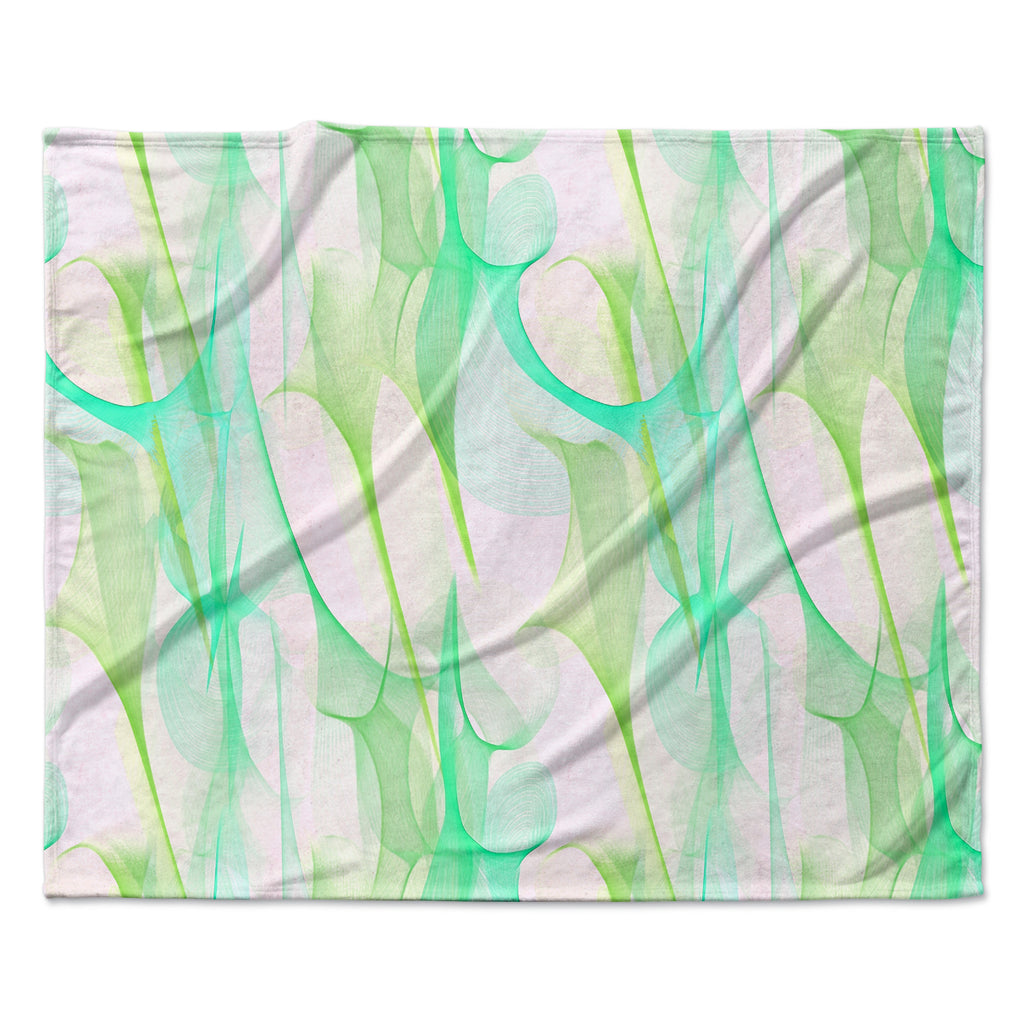 "Alison Coxon ""Swim II"" Fleece Throw Blanket"