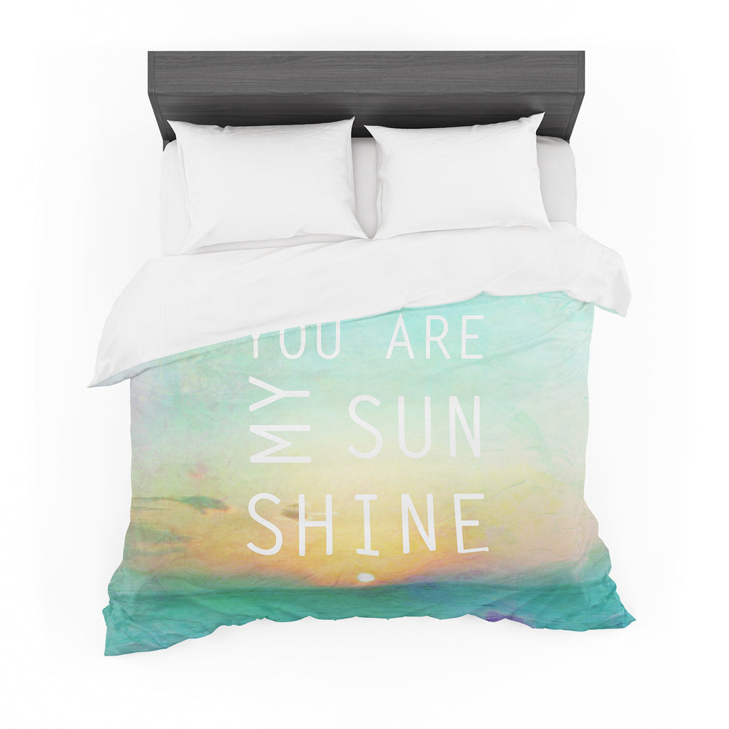 "Alison Coxon ""You Are My Sunshine"" Featherweight Duvet Cover"