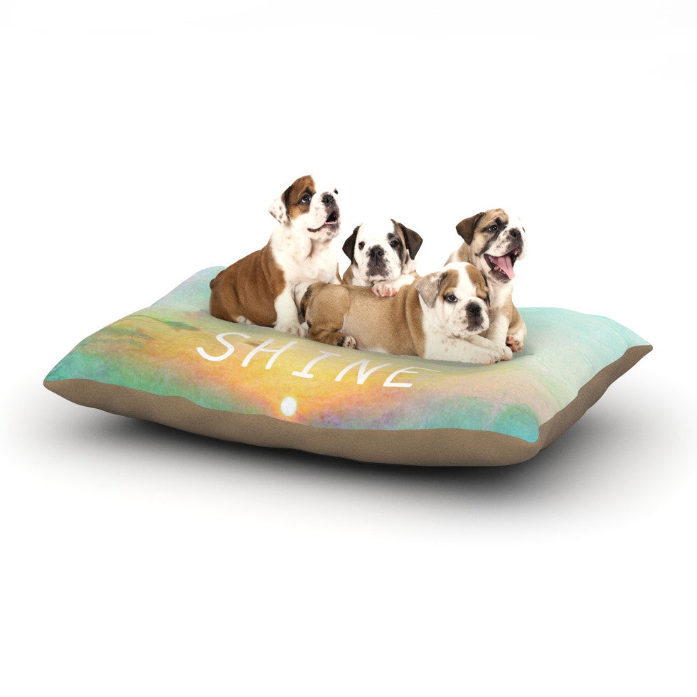 "Alison Coxon ""You Are My Sunshine"" Dog Bed - KESS InHouse  - 1"
