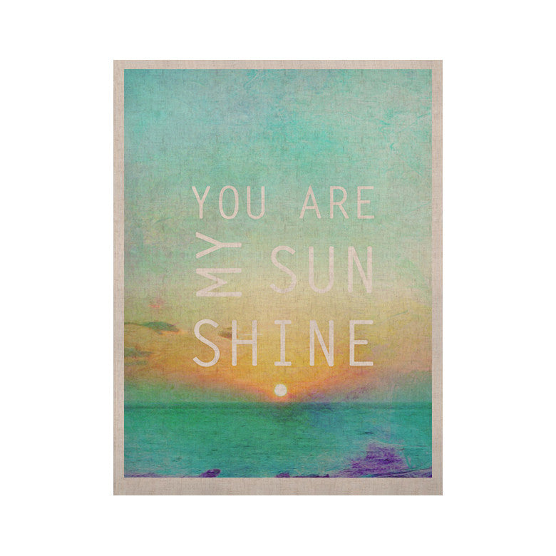 "Alison Coxon ""You Are My Sunshine"" KESS Naturals Canvas (Frame not Included) - KESS InHouse  - 1"