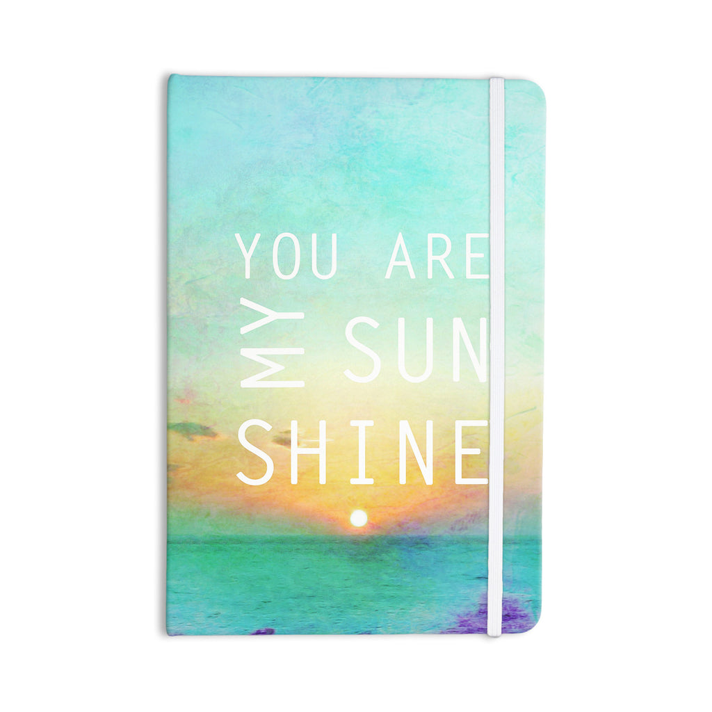 "Alison Coxon ""You Are My Sunshine"" Everything Notebook - KESS InHouse  - 1"