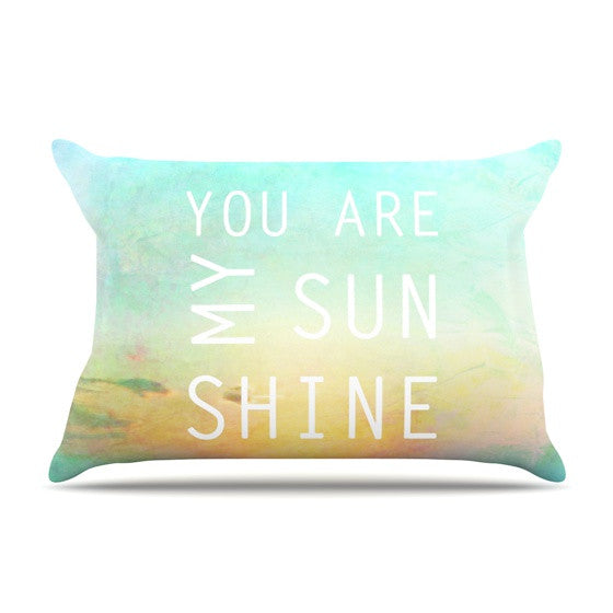 "Alison Coxon ""You Are My Sunshine"" Pillow Sham - KESS InHouse  - 1"