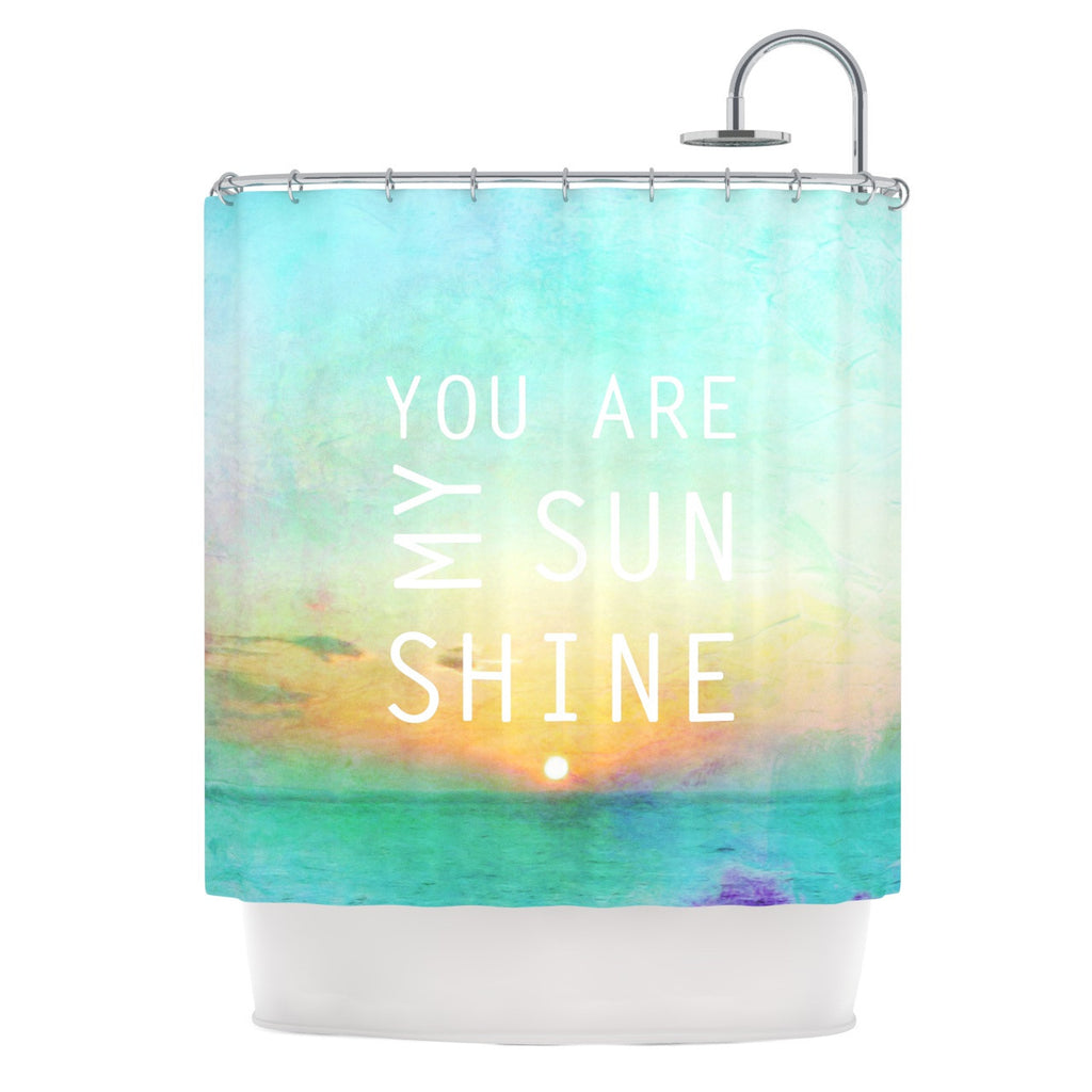 "Alison Coxon ""You Are My Sunshine"" Shower Curtain - KESS InHouse"