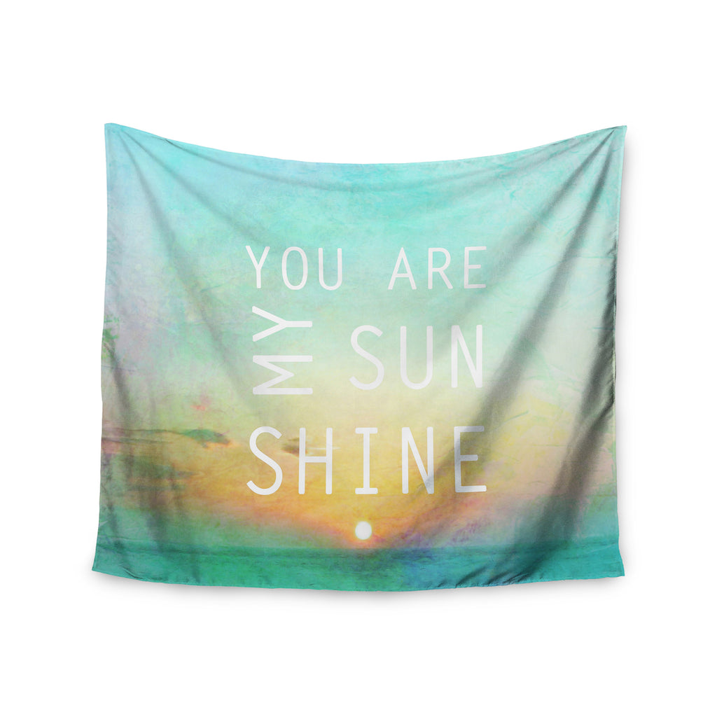 "Alison Coxon ""You Are My Sunshine"" Wall Tapestry - KESS InHouse  - 1"