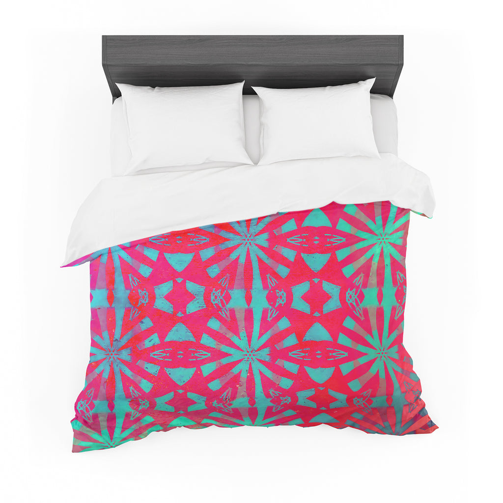"Alison Coxon ""Aloha"" Featherweight Duvet Cover"