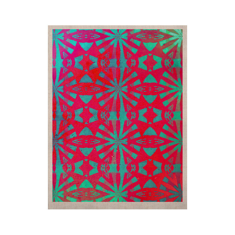 "Alison Coxon ""Aloha"" KESS Naturals Canvas (Frame not Included) - KESS InHouse  - 1"