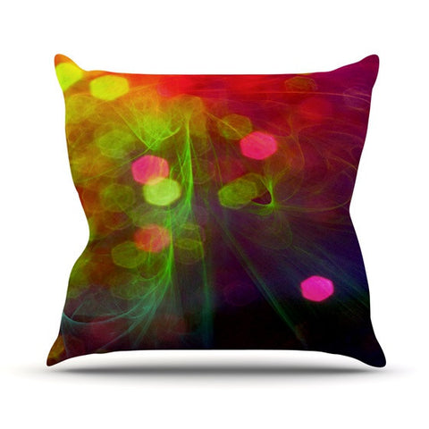 "Alison Coxon ""Dance"" Outdoor Throw Pillow - KESS InHouse  - 1"