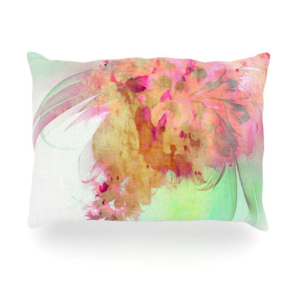 "Alison Coxon ""Lily"" Oblong Pillow - KESS InHouse"