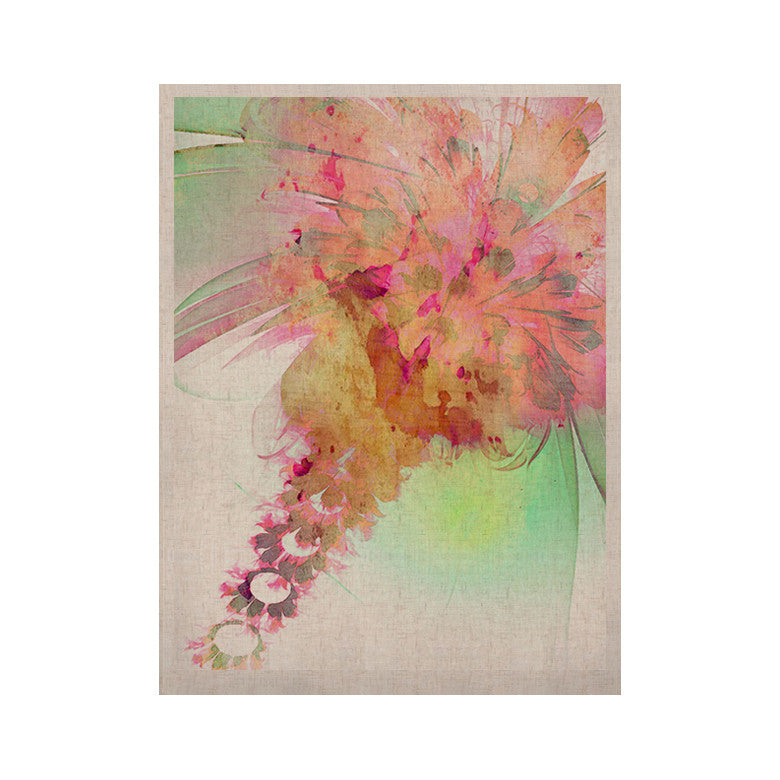 "Alison Coxon ""Lily"" KESS Naturals Canvas (Frame not Included) - KESS InHouse  - 1"