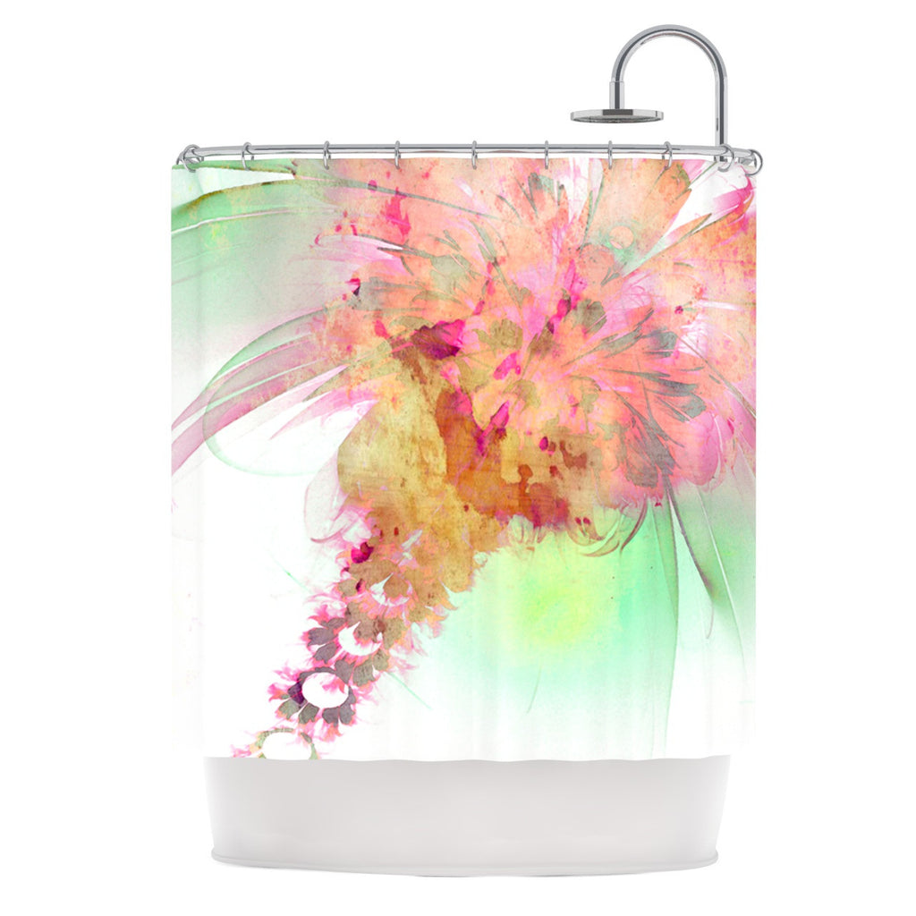 "Alison Coxon ""Lily"" Shower Curtain - KESS InHouse"