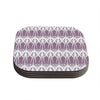 "Alison Coxon ""Arrow Lavender"" Coasters (Set of 4)"