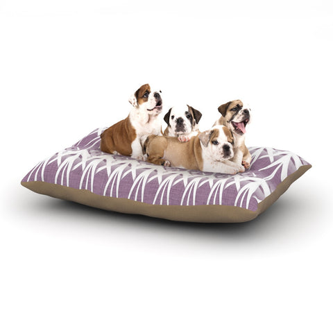 "Alison Coxon ""Arrow Lavender"" Dog Bed - KESS InHouse  - 1"