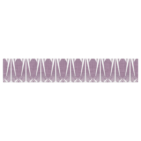 "Alison Coxon ""Arrow Lavender"" Table Runner - KESS InHouse  - 1"