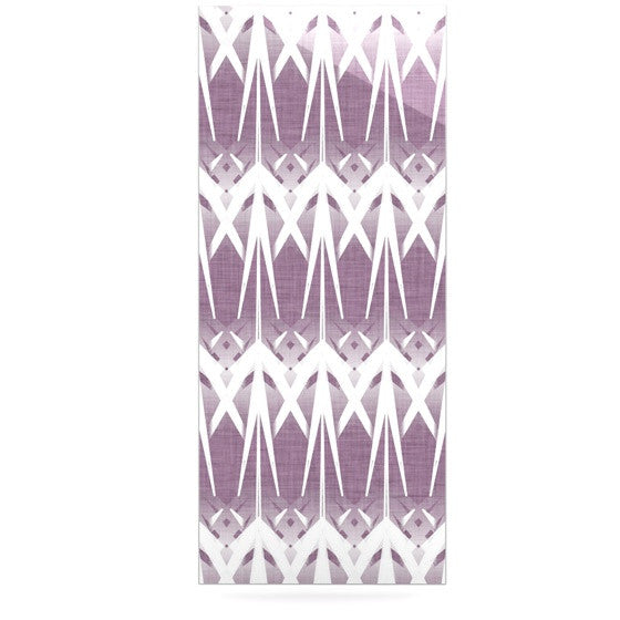 "Alison Coxon ""Arrow Lavender"" Luxe Rectangle Panel - KESS InHouse  - 1"