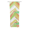 "Alison Coxon ""Summer Party Chevron"" Decorative Sheer Curtain - KESS InHouse"
