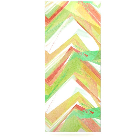 "Alison Coxon ""Summer Party Chevron"" Luxe Rectangle Panel - KESS InHouse  - 1"