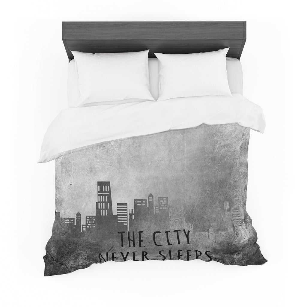 "Alison Coxon ""The City Never Sleeps"" Featherweight Duvet Cover"
