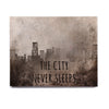 "Alison Coxon ""The City Never Sleeps"" Birchwood Wall Art - KESS InHouse  - 1"