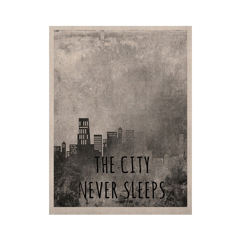 "Alison Coxon ""The City Never Sleeps"" KESS Naturals Canvas (Frame not Included) - KESS InHouse  - 1"