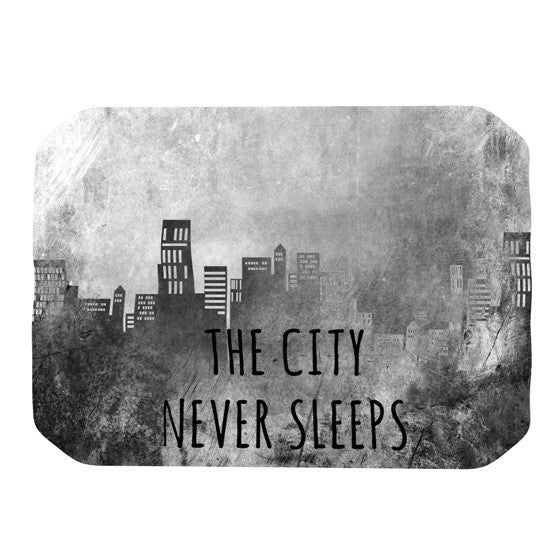 "Alison Coxon ""The City Never Sleeps"" Place Mat - KESS InHouse"
