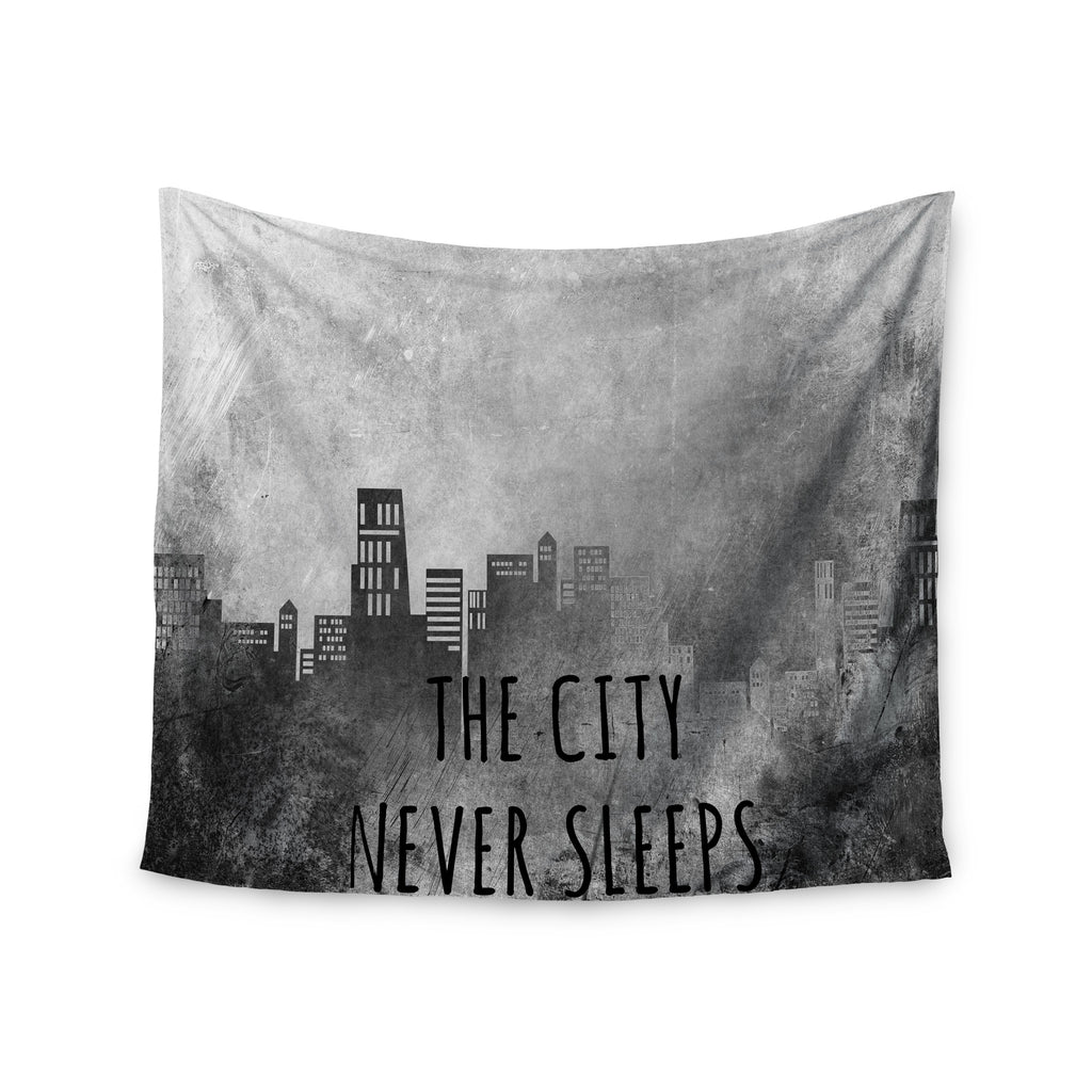 "Alison Coxon ""The City Never Sleeps"" Wall Tapestry - KESS InHouse  - 1"