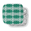 "Alison Coxon ""Diamond"" Teal White Pot Holder"