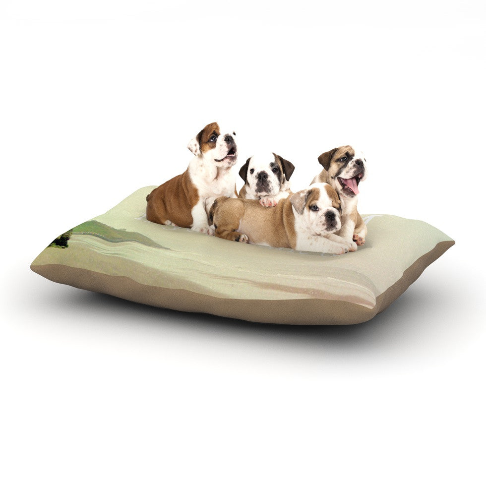 "Alison Coxon ""Roam"" Ocean Dog Bed - KESS InHouse  - 1"