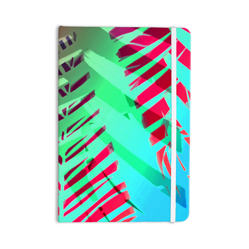 "Alison Coxon ""Cool Tropical"" Blue Green Everything Notebook - KESS InHouse  - 1"