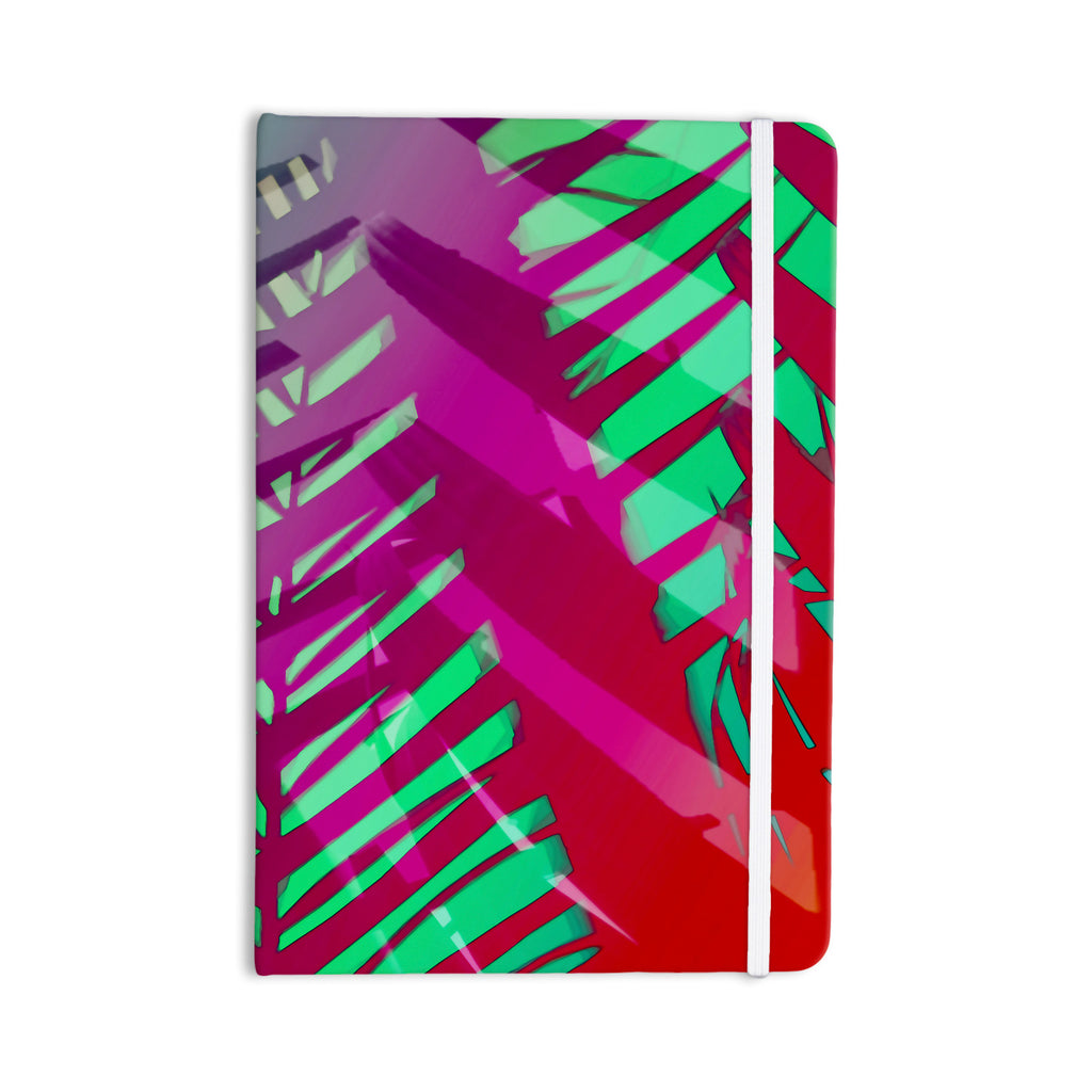 "Alison Coxon ""Hot Tropical"" Pink Red Everything Notebook - KESS InHouse  - 1"