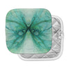 "Alison Coxon ""Butterfly Blue"" Green Black Pot Holder"