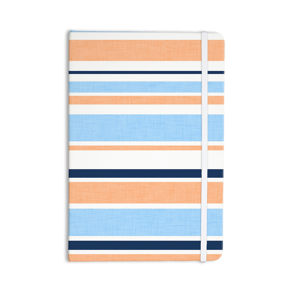 "Alison Coxon ""Jack Tar Pink"" Blue Orange Everything Notebook - KESS InHouse  - 1"
