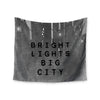 "Alison Coxon ""Bright Lights"" Dark City Wall Tapestry - KESS InHouse  - 1"