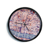 "Alison Coxon ""City Of London"" Map Modern Wall Clock"