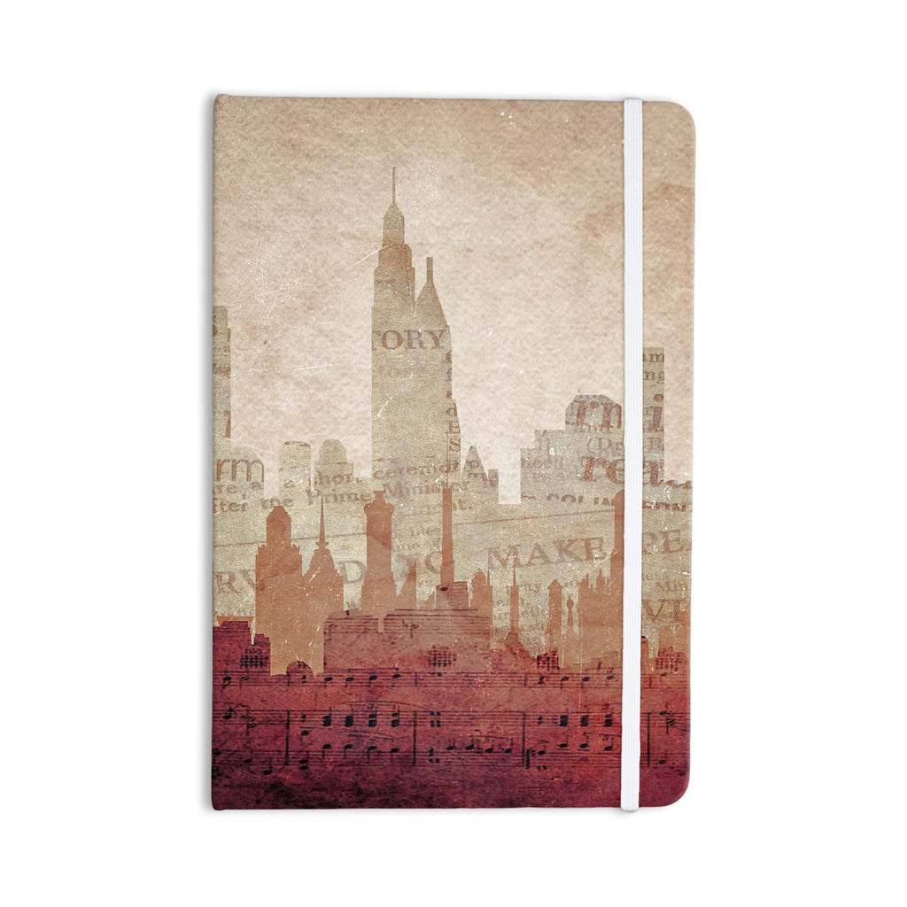 "Alison Coxon ""City"" Warm Tan Everything Notebook - KESS InHouse"