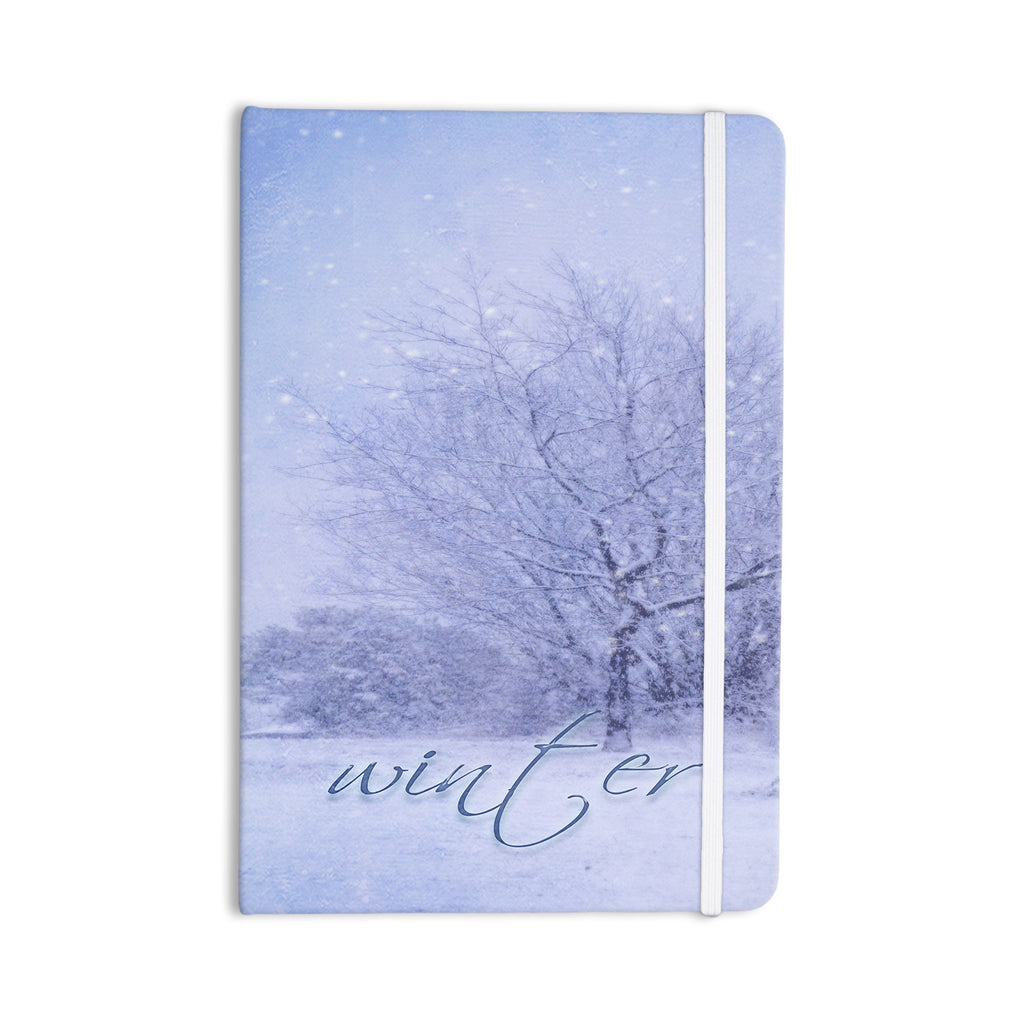 "Alison Coxon ""Winter Tree"" Lilac Cutting Board Everything Notebook - KESS InHouse  - 1"