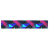 "Alison Coxon ""Confetti Triangles Dark"" Magenta Blue Table Runner - KESS InHouse  - 1"