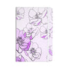 "Alison Coxon ""Painted Wild Roses Purple"" Pink Floral Everything Notebook - KESS InHouse  - 1"
