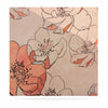 "Alison Coxon ""Painted Wild Roses"" Coral Floral Luxe Square Panel - KESS InHouse  - 1"
