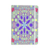 "Alison Coxon ""Hippy Flowers"" Lavender Kaleidoscope Everything Notebook - KESS InHouse  - 1"