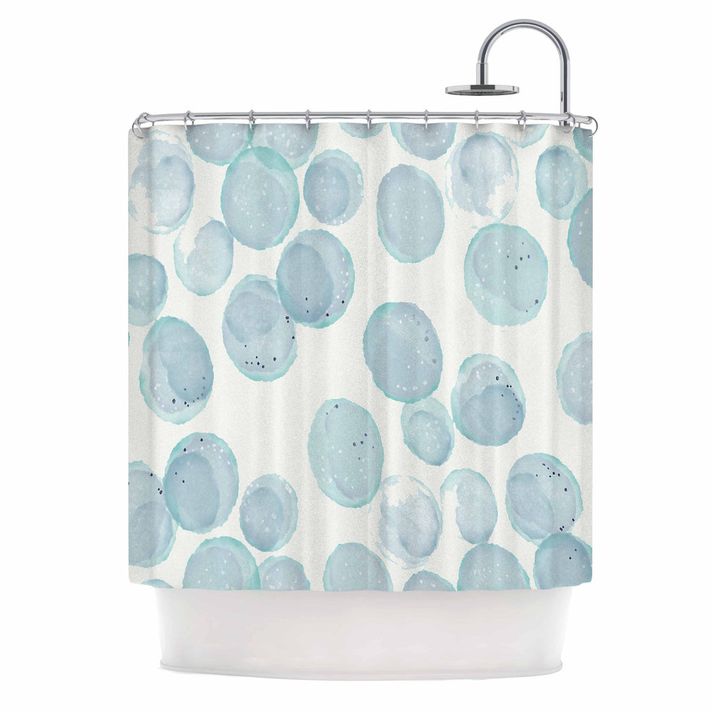 Pebbles Shower Curtain By Alison Coxon