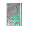 "Alison Coxon "" Indian Summer"" Purple Teal Abstract Everything Notebook - KESS InHouse  - 1"