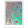 "Alison Coxon "" Indian Summer"" Purple Teal Abstract Fine Art Gallery Print - KESS InHouse"