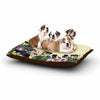 "Alison Coxon ""Polka Dot"" Purple Yellow Dog Bed - KESS InHouse  - 1"
