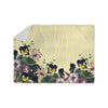 "Alison Coxon ""Polka Dot"" Purple Yellow Sherpa Blanket - KESS InHouse  - 1"